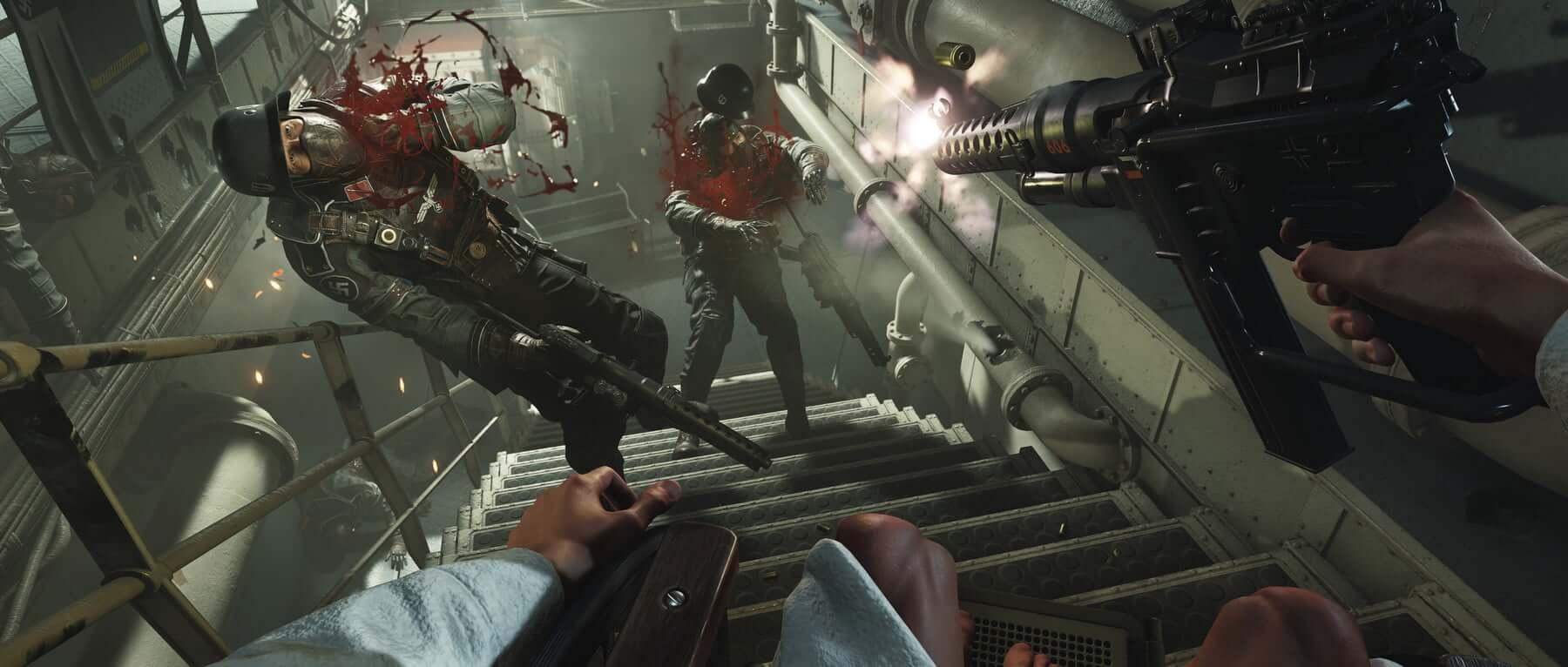 Foto de Confiram gameplay de Wolfenstein 2, Darksouls, Crash e mais para o Nintendo Switch