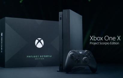 Pré-venda do Xbox One X Scorpio Edition tem início hoje em todo o Brasil