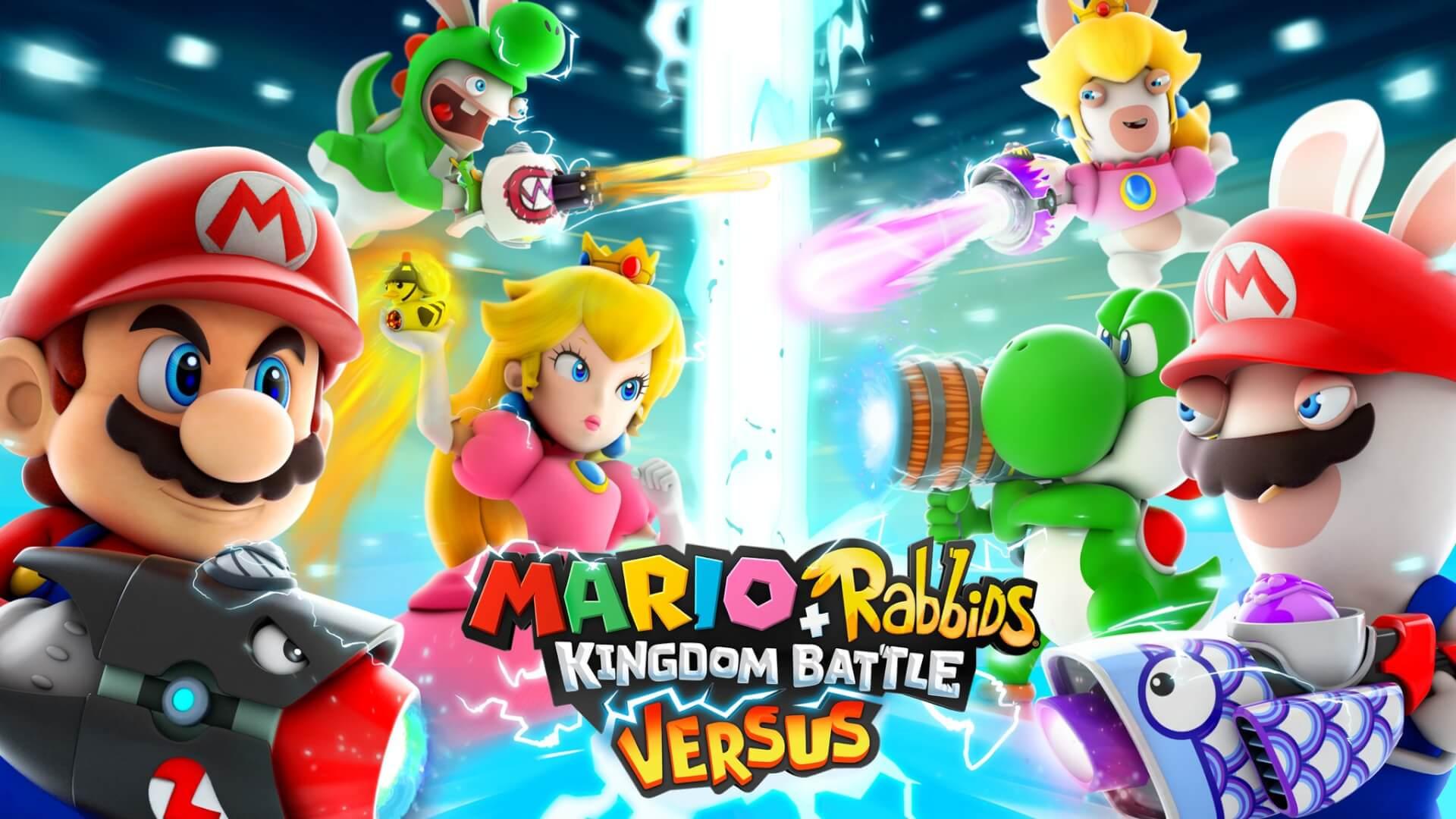 Foto de Mario + Rabbids Kingdom Battle terá modo Versus a partir de amanhã
