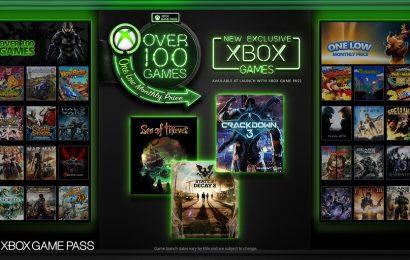 Xbox Game Pass incluirá novos lançamentos da Microsoft Studios