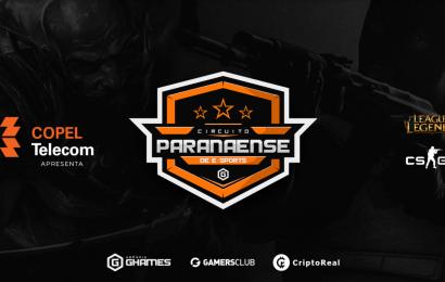 Circuito Paranaense de eSports acontecerá em Março e terá premiação de mais de R$ 15 mil