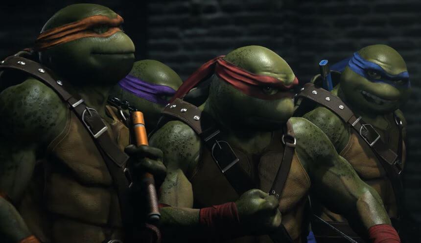 Foto de Ed Boon mostra como escolher cada Tartaruga Ninja em Injustice 2