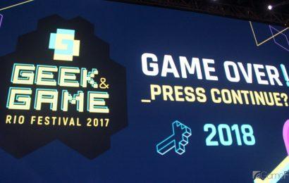 Game & Geek Rio Festival 2018 é confirmado