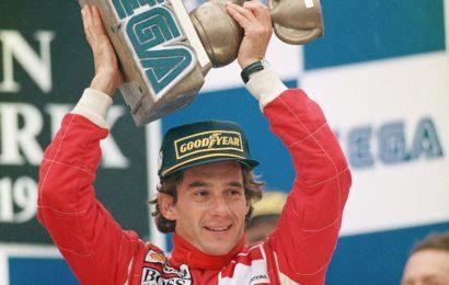 Há 25 anos Sonic e Ayrton Senna subiam no pódio; McLaren ainda guarda o troféu