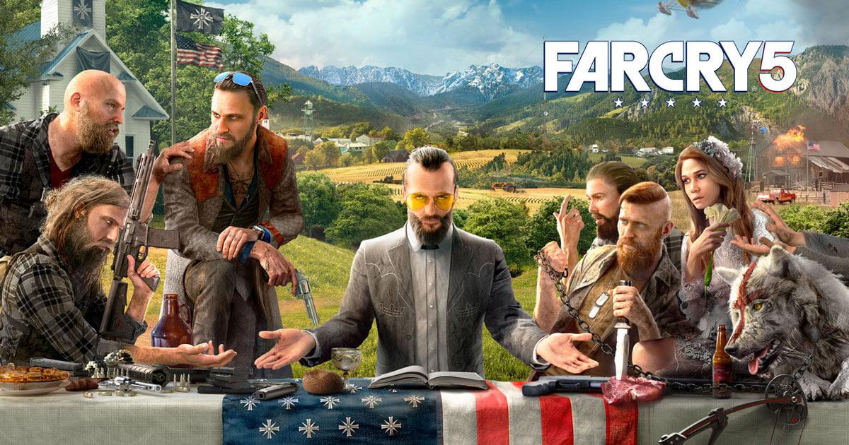 Foto de Far Cry 5 se torna o mais vendido da franquia e segundo mais vendido da Ubisoft