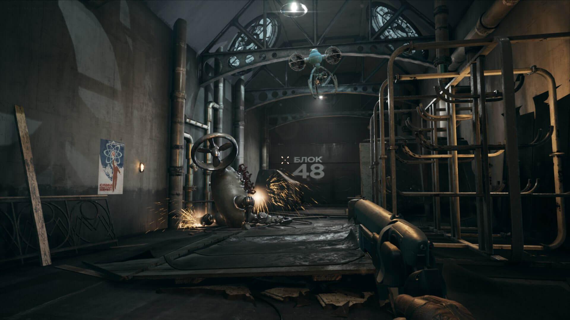 Foto de FPS com a temática soviética distópica, Atomic Heart, é anunciado para PS4, Xbox One e PC