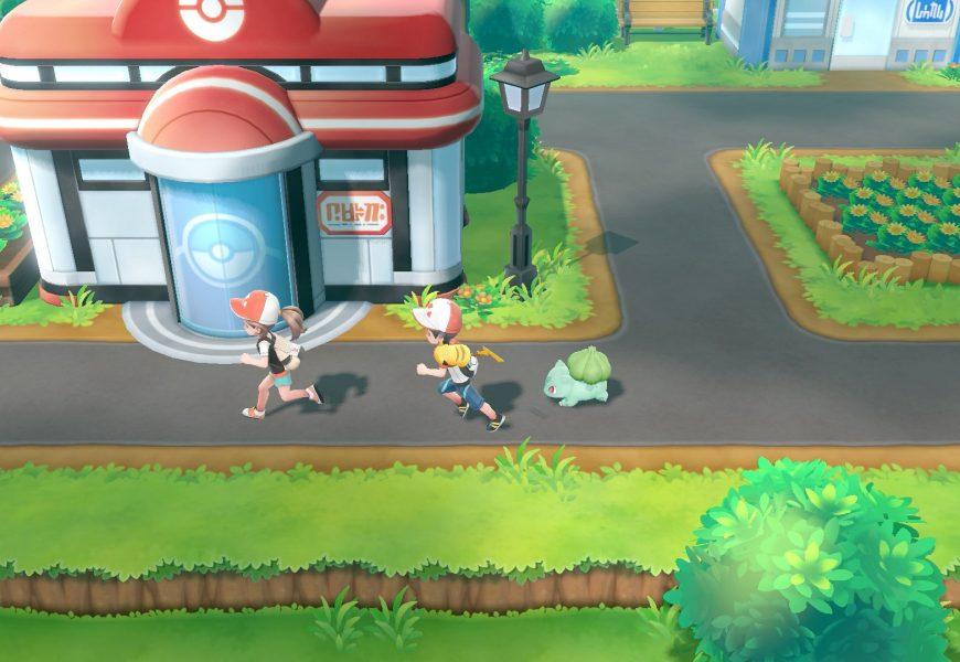 Demo de Pokémon Let's Go! está disponível para download