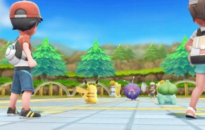 UPDATE: Pokemon Let's Go Pikachu e Evee não contará com batalhas na grama. Online confirmado