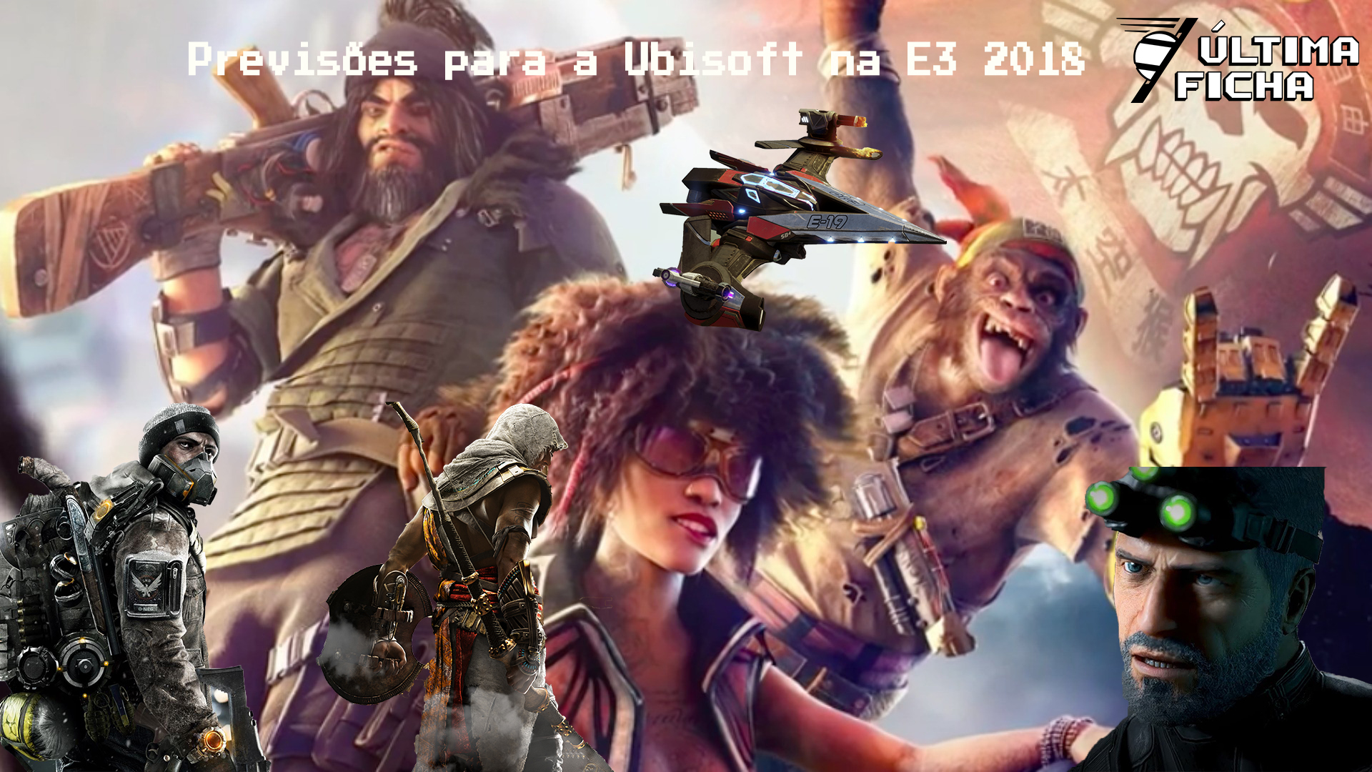 Foto de Episódio 10 Especial E3 2018 – O que a Ubisoft vai apresentar?