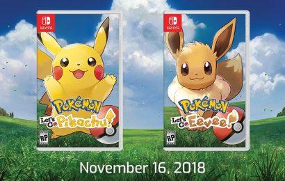Pokemon Let's Go Pikachu e Evee é oficialmente anunciado com trailer e lançamento ainda em 2018