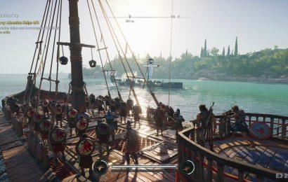 E3 2018 Preview + Gameplay 4K – Assassin's Creed Odyssey investe no RPG e batalha de barcos