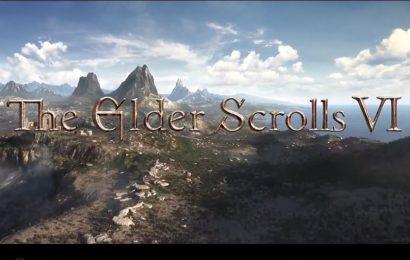 E3 2018: Bethesda anuncia The Elder Scrolls VI