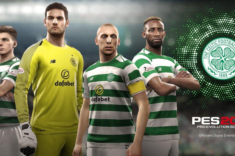 Foto de Celtic entra para a lista de clubes parceiros do PES 2019