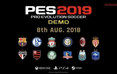 Preview: Demo de PES 2019 mostra um jogo mais cadenciado e estratégico