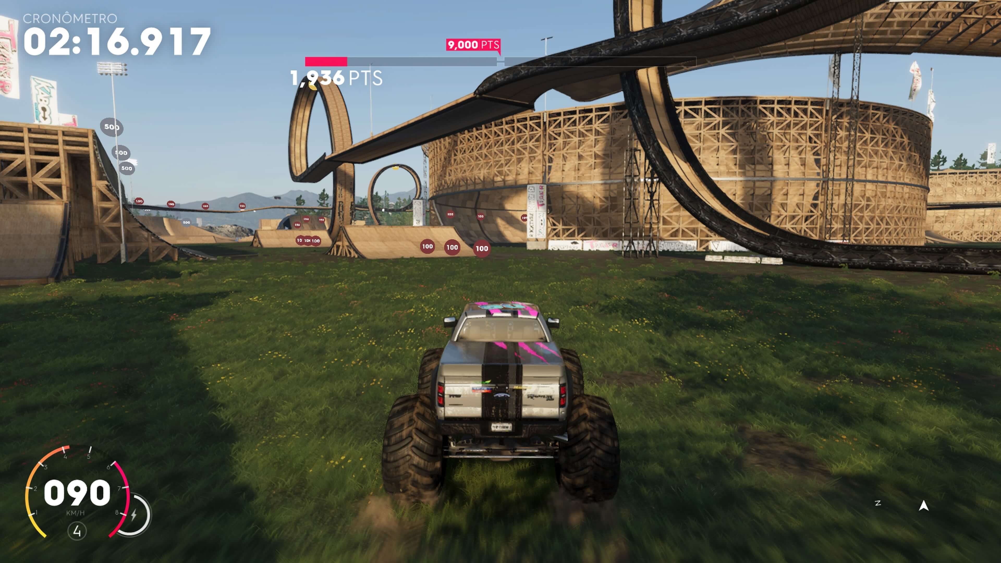 Tony Hawk Monster Truck edition