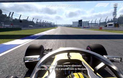 Confiram gameplay de F1 2018 e também de todos carros clássicos.
