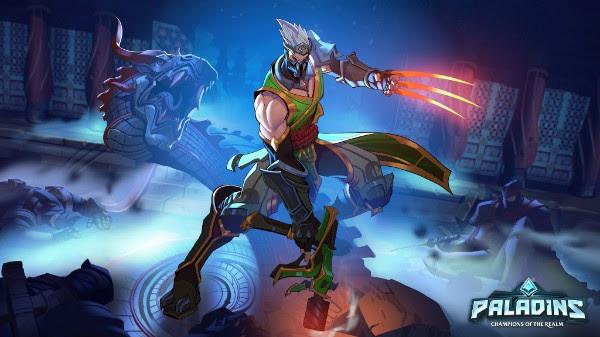 Junto com a mudança hoje para o formato gratuito para jogar, Paladins está lançando o seu mais novo Campeão: o ninja mortal Koga.