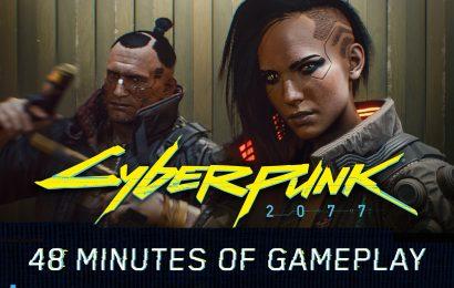 Confira o primeiro gameplay de Cyberpunk2077