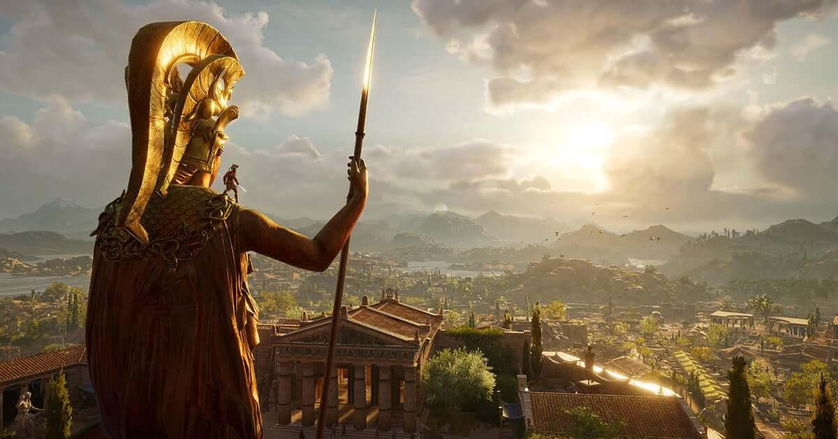 Foto de Assassin's Creed: Odyssey chega às lojas e coloca os jogadores na pele de heróis espartanos