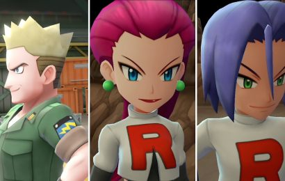 Pokemon Let's Go debuta Mega Evoluções e Equipe Rocket!