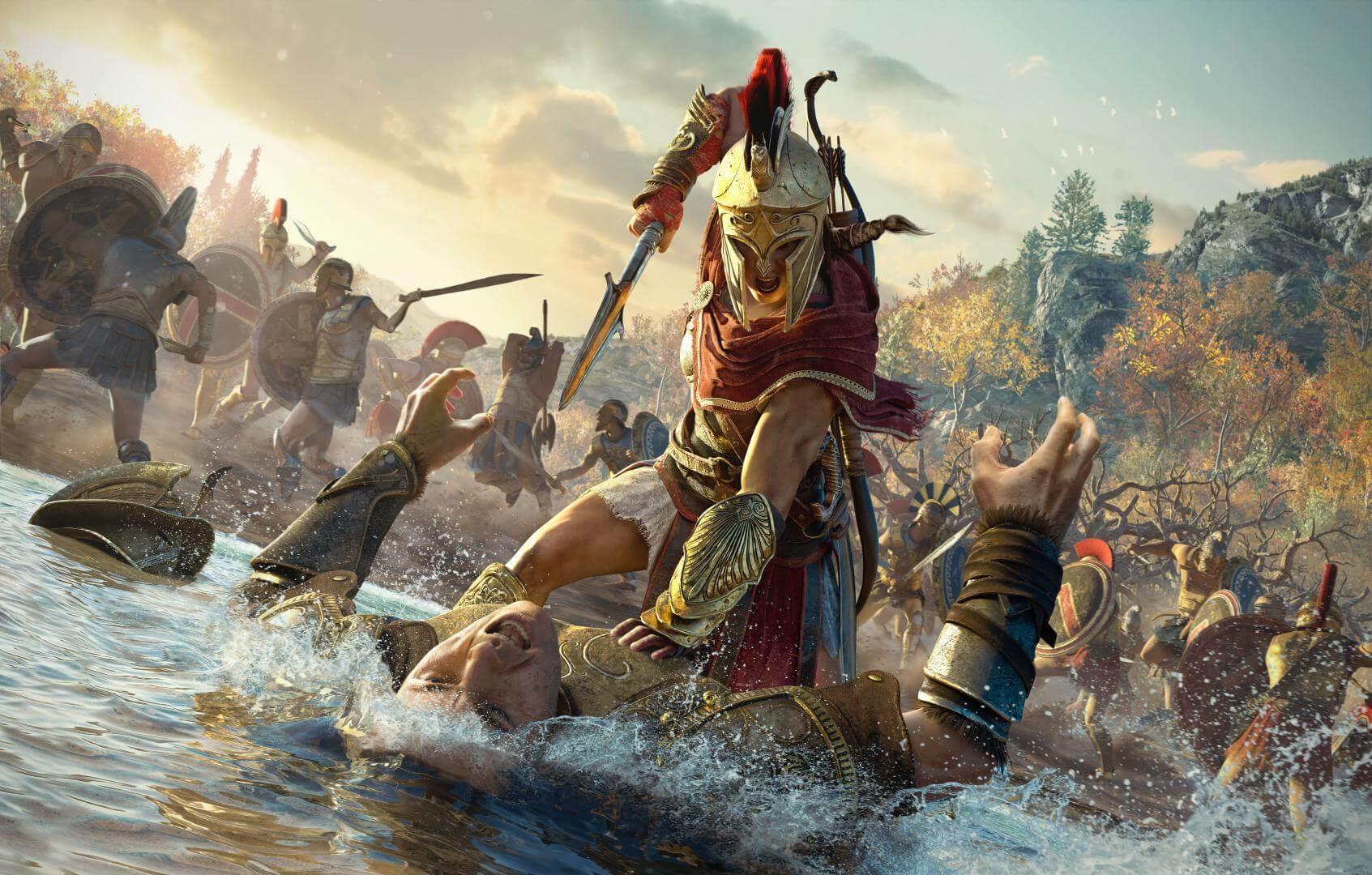 Foto de Ubisoft revela as vozes brasileiras de Assassin's Creed Odyssey
