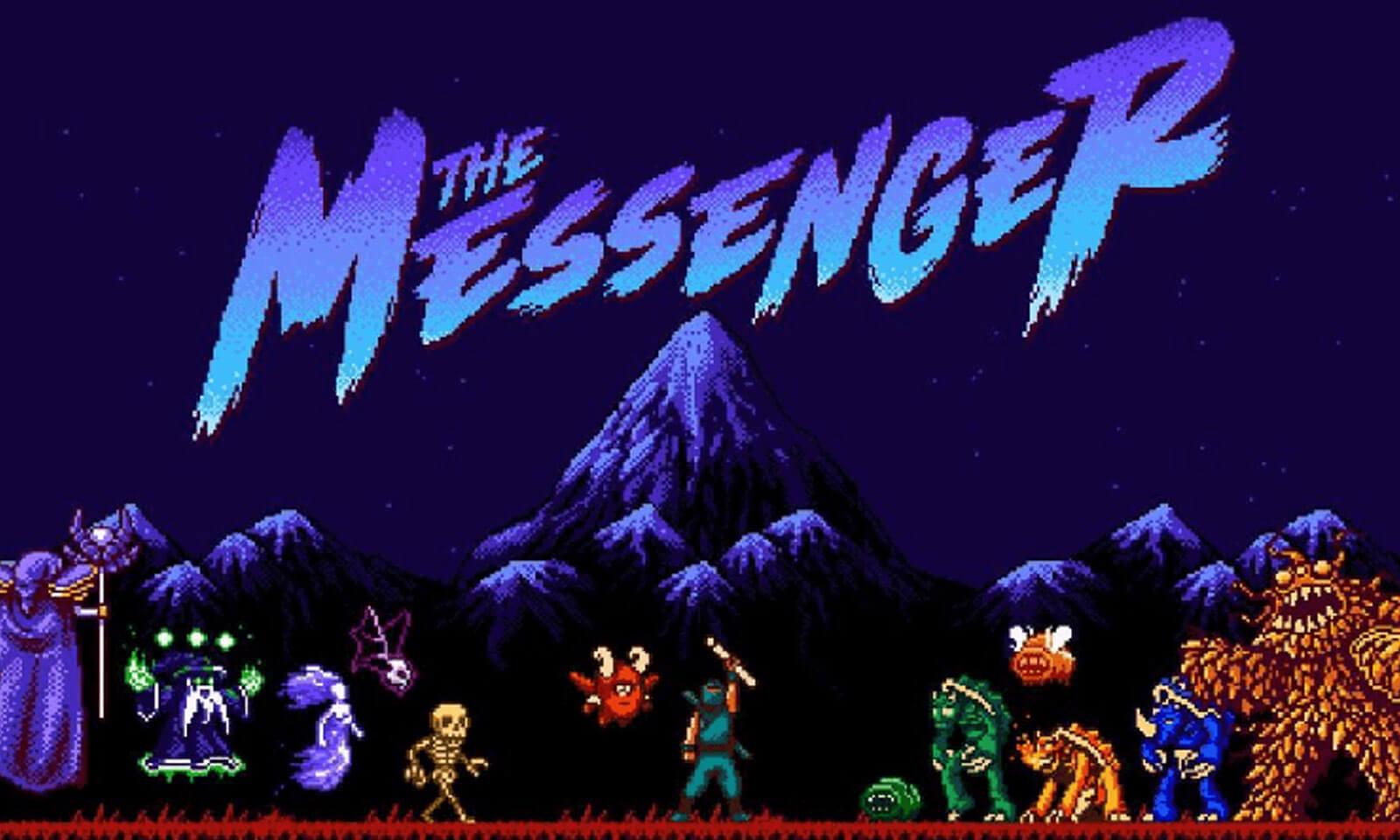 Foto de The Messenger chegará oficialmente ao PS4 ainda em Março