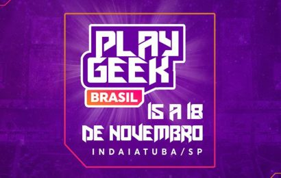 Maior festival open air de cultura geek acontecerá entre os dias 15 e 18 de Novembro