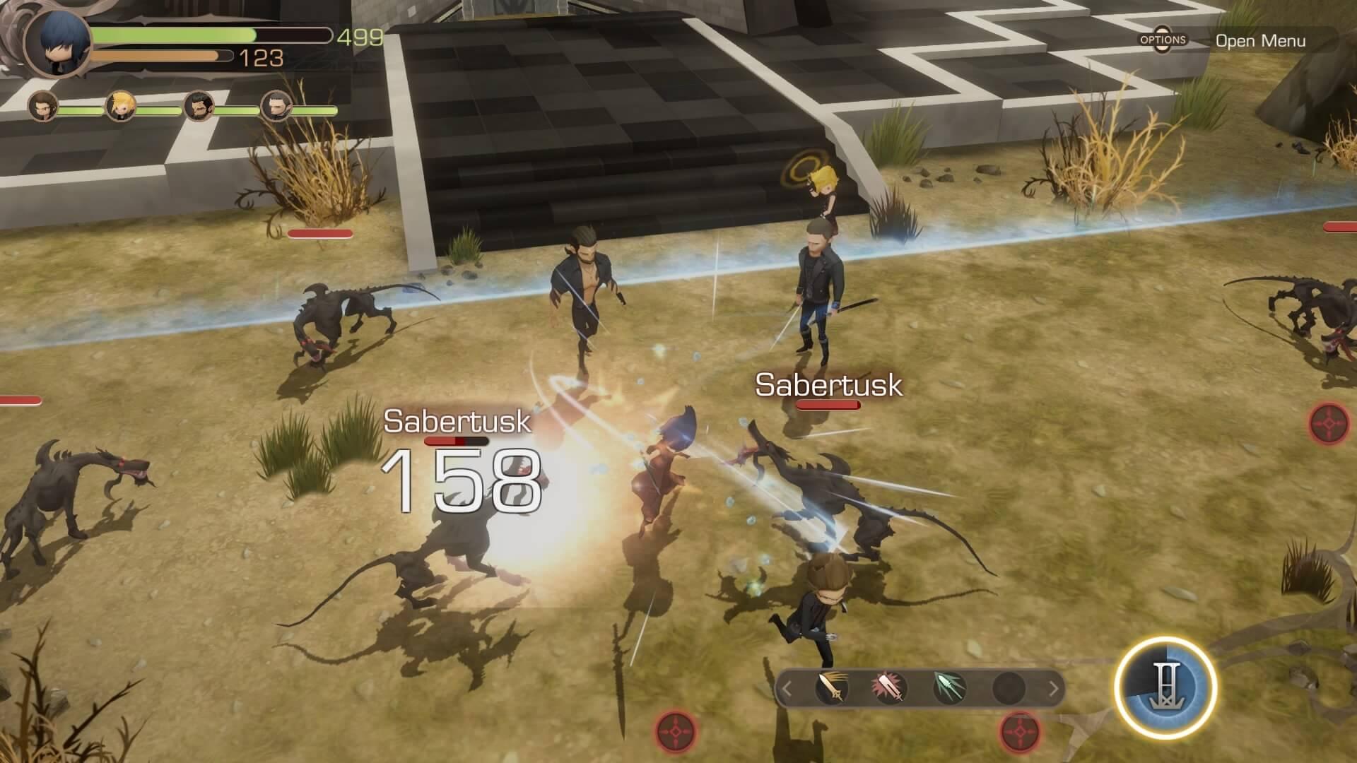 Análise: Final Fantasy XV Pocket Edition HD corta mais do que devia -  Última Ficha