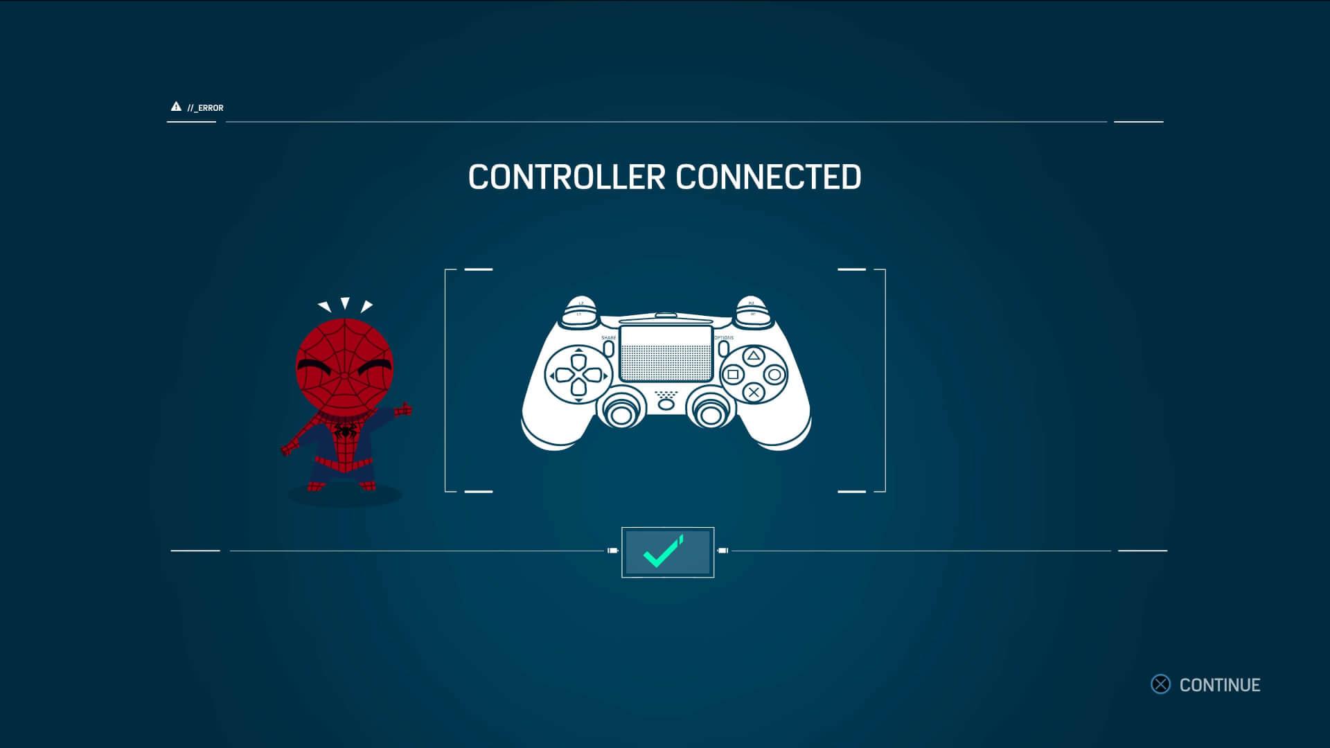 O carinho com o jogo até quando o controle desconecta.