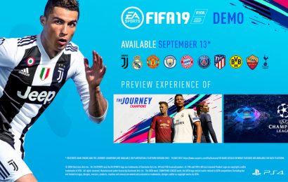 Saiba quando baixar a DEMO de FIFA19