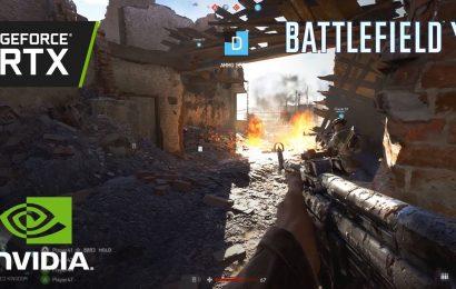 Battlefield V com 64 jogadores simultâneos e gráficos RTX na BGS 2018