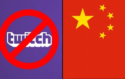 Twitch banido da China!