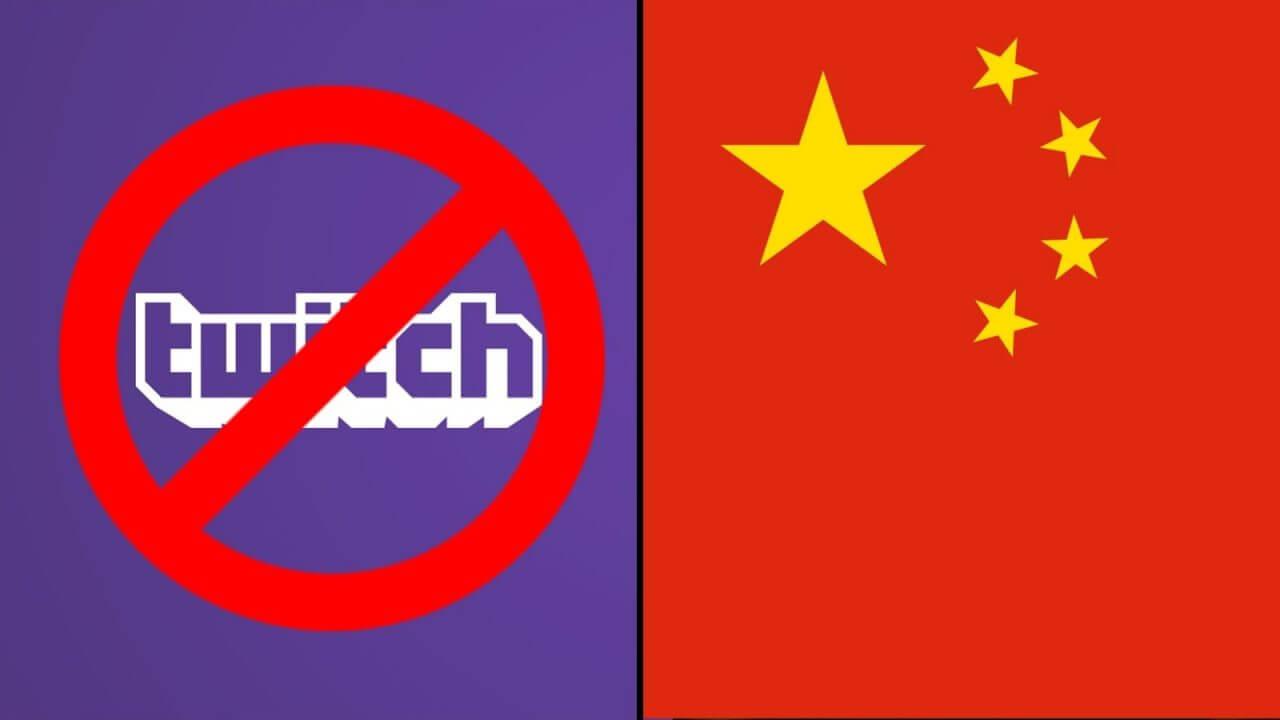 Foto de Twitch banido da China!