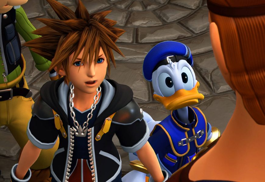 Kingdom Hearts III está concluído e comemora com novo trailer