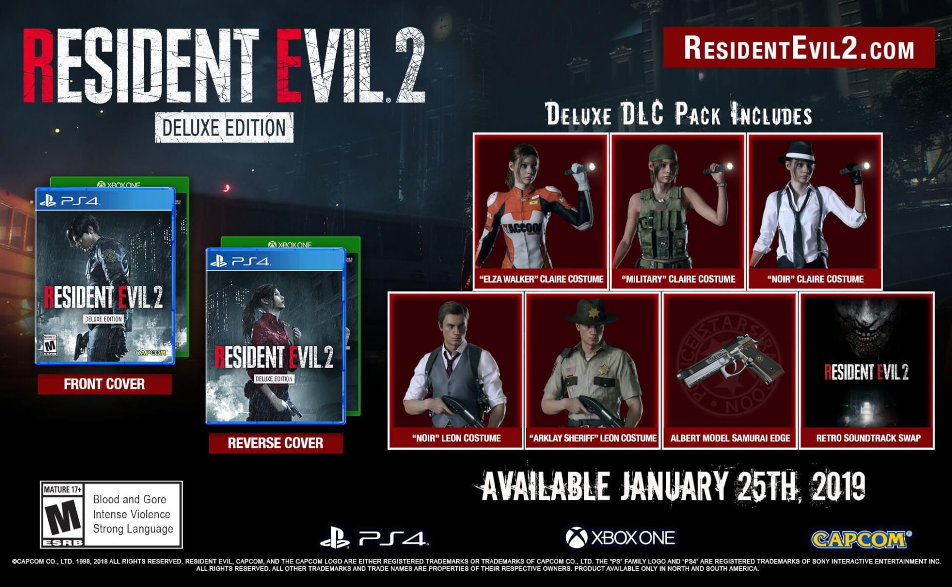 Foto de Resident Evil 2 Remake: atualização da edição deluxe!!!