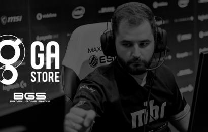 GA Store anuncia participação na Brasil Game Show e line-up com produtos exclusivos das melhores equipes do CS:GO mundial