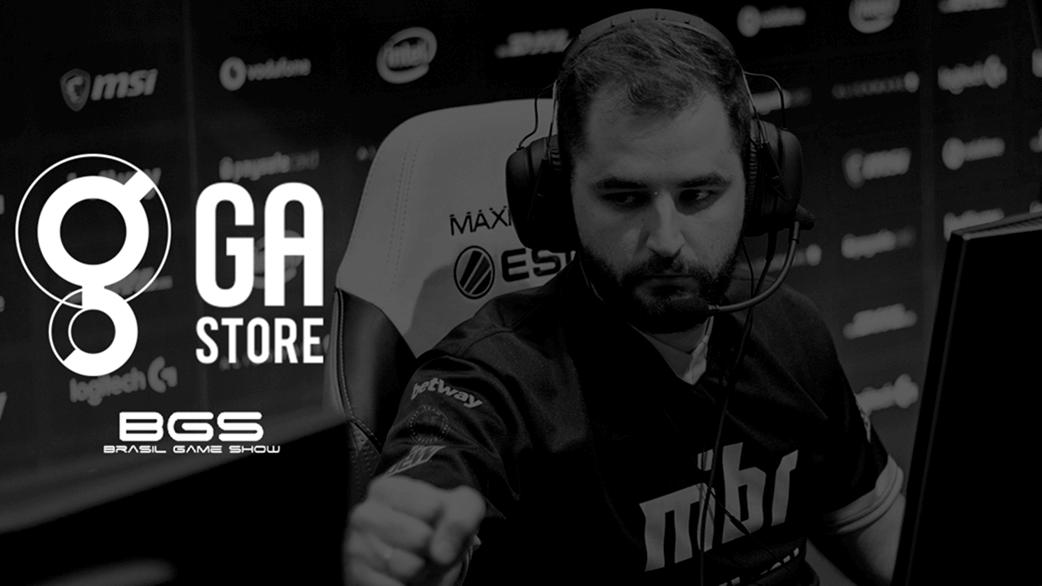 Foto de GA Store anuncia participação na Brasil Game Show e line-up com produtos exclusivos das melhores equipes do CS:GO mundial
