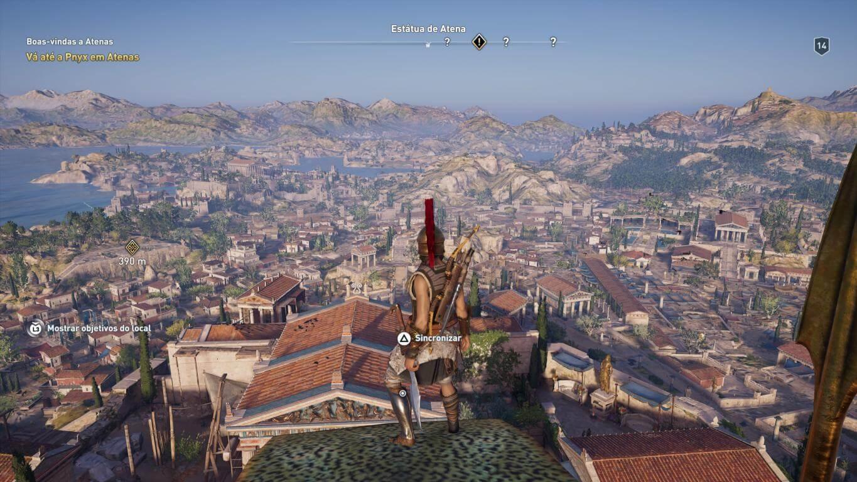 Foto de Análise: Assassin's Creed Odyssey chega como um dos melhores do ano