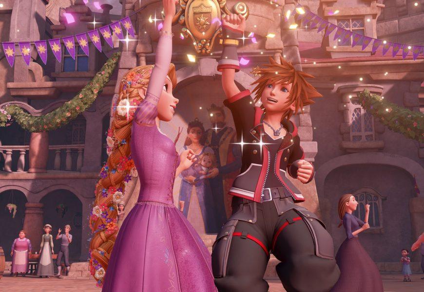 Novo trailer de Kingdom Hearts III mostra o reino do filme Enrolados