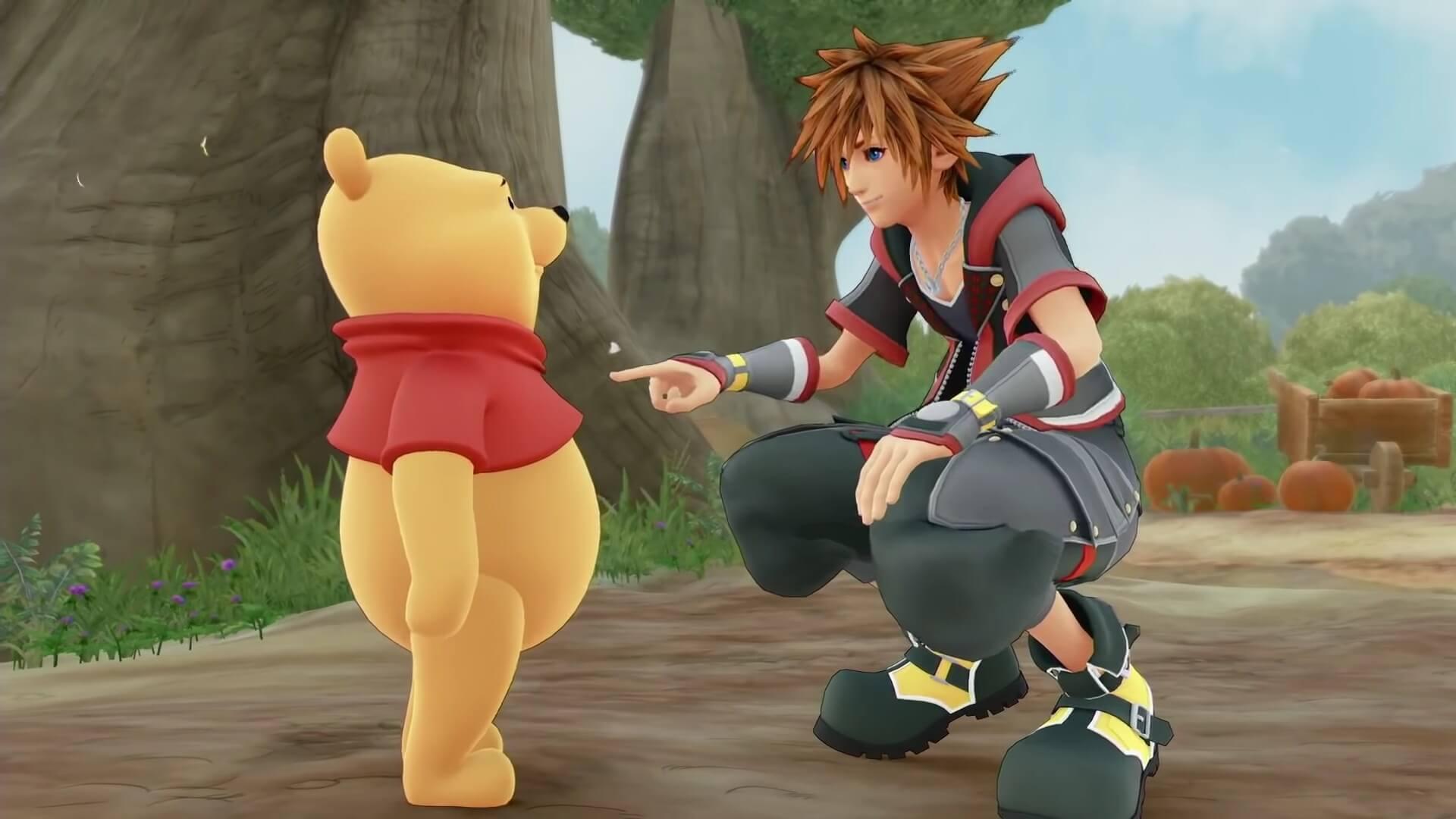 Winnie the Pooh ganha trailer em Kingdom Hearts III