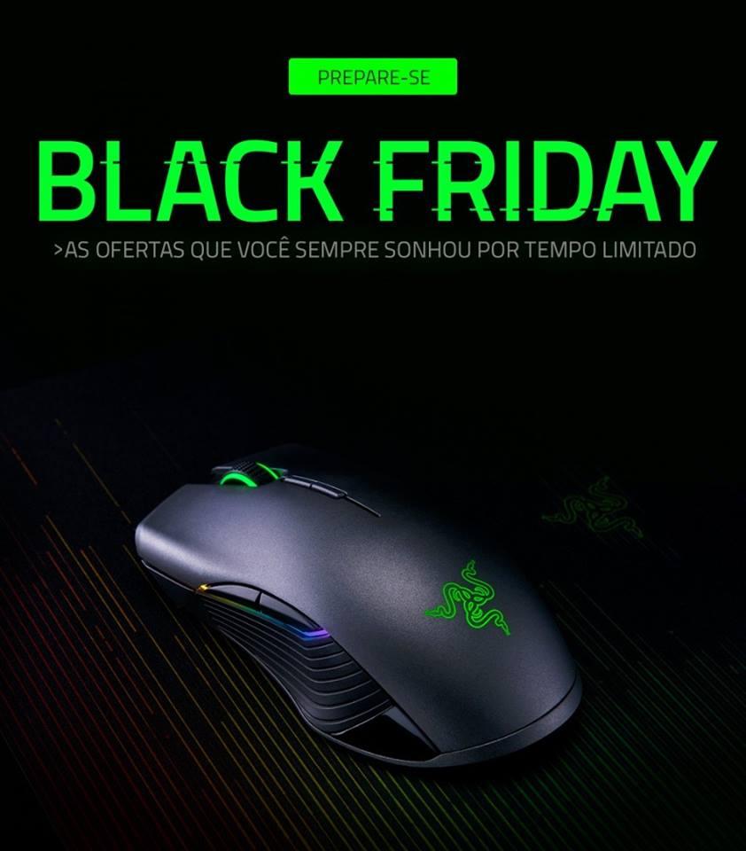 Black Friday da Razer Brasil terá produtos com até 63% de desconto