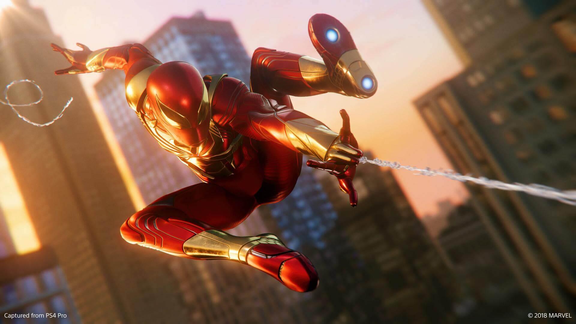Foto de Homem Aranha de PS4 na Plus de Junho?