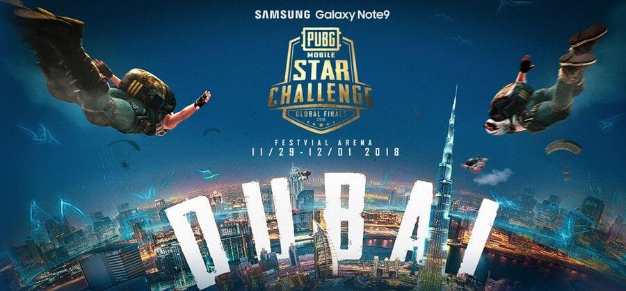 Com premiação de US$ 400 mil, final mundial do PUBG MOBILE Star Challenge vai começar em Dubai