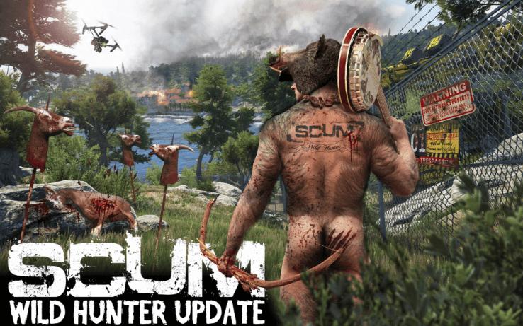 Foto de SCUM recebe a atualização Wild Hunter