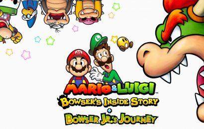 Mario & Luigi Bowser's inside story + Bowser jr.'s journey ganha trailer de história