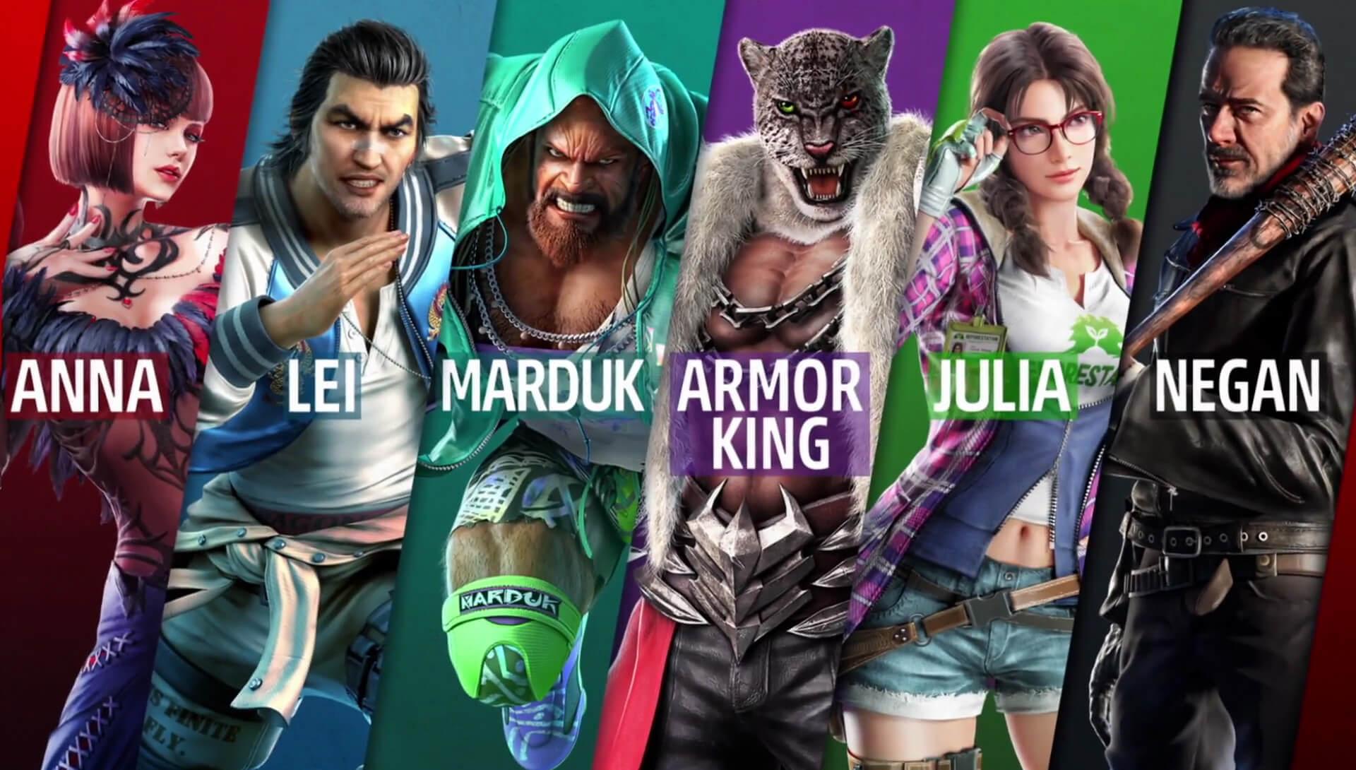 Segundo passe de temporada de Tekken 7 ganha novos personagens e trailers