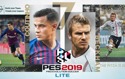 PES 2019 Lite é gratuito e já está disponível!