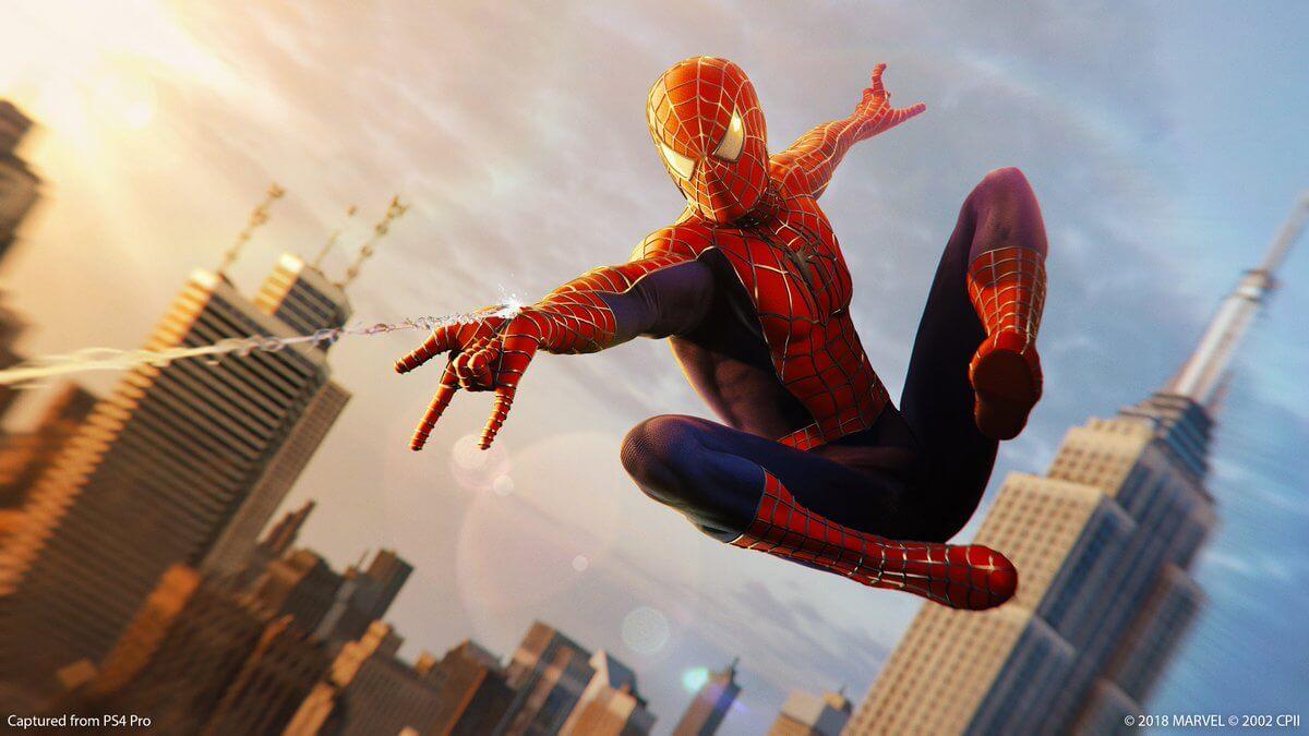 Foto de Save de Spider-Man do PS4 será levado para o PS5