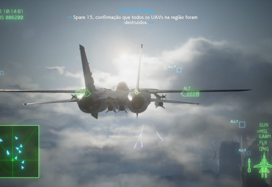 Ace Combat 7: Skies Unknown receberá DLC Operation Sighthound neste ano