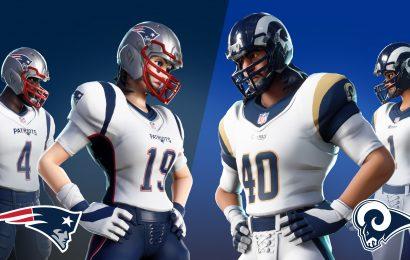 Os trajes da NFL estão de volta em Fortnite junto com o Superbowl!